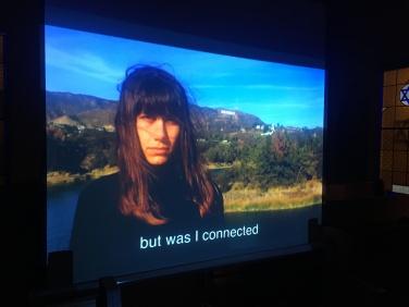 The video installation of Shasha Dothan